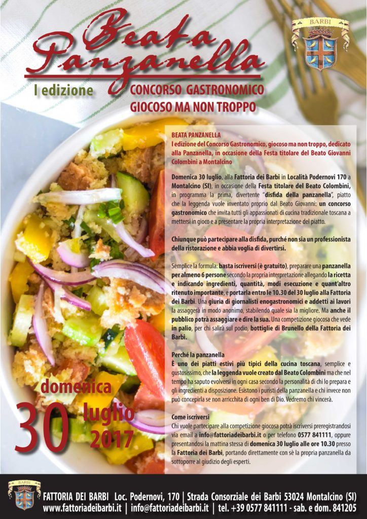 Beata Panzanella | concorso gastronomico, giocoso ma non troppo