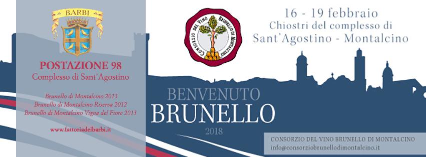Benvenuto Brunello 2018 | Fattoria dei Barbi