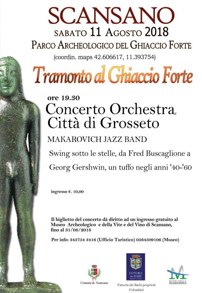 Tramonto al Ghiaccio Forte | Concerto al Tramonto