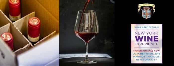 Fattoria dei Barbi e Stefano Cinelli Colombini al New York Wine Experience 2018 di Wine Spectator