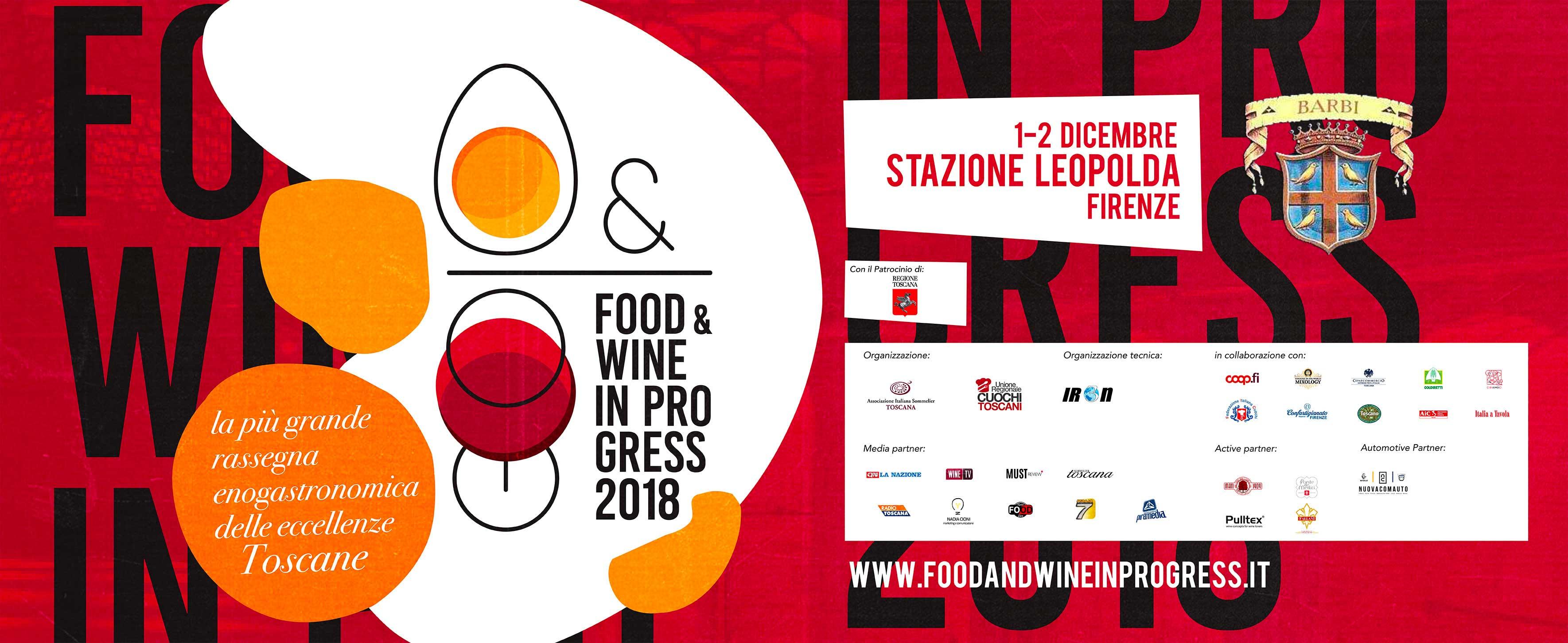 Fattoria dei Barbi presente al Food & Wine in Progress 2018